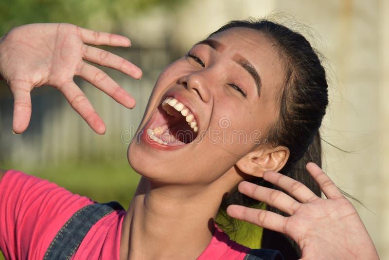Młodociana Różnorodna kobieta I śmiech zdjęcia royalty free