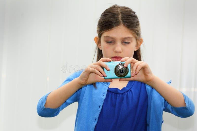Młody fotograf obraz royalty free