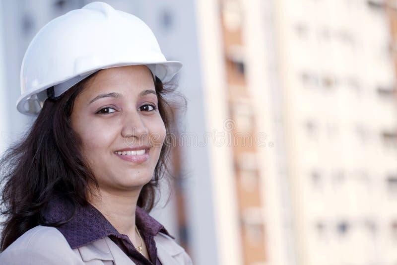 Młody żeński architekt fotografia stock
