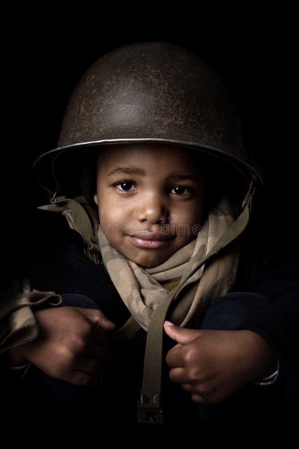 Młody żołnierz obrazy stock