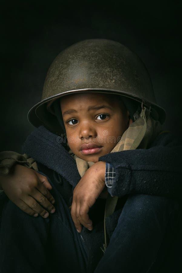 Młody żołnierz zdjęcie royalty free