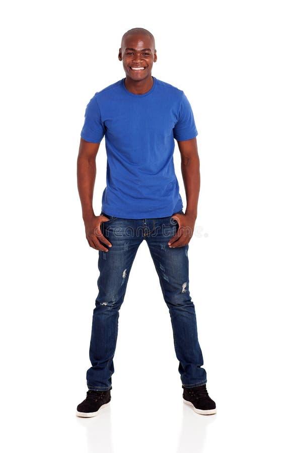 Młody afrykański mężczyzna zdjęcie stock