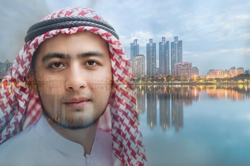 Młody arabski mężczyzna fotografia royalty free