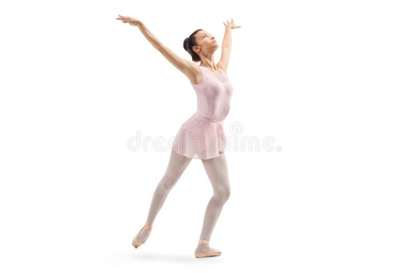 Młody baleriny ćwiczyć zdjęcia royalty free