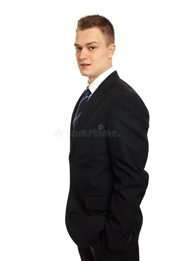 Młody biznesmen zdjęcie royalty free