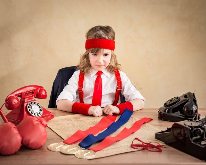Młody biznesmen obraz royalty free