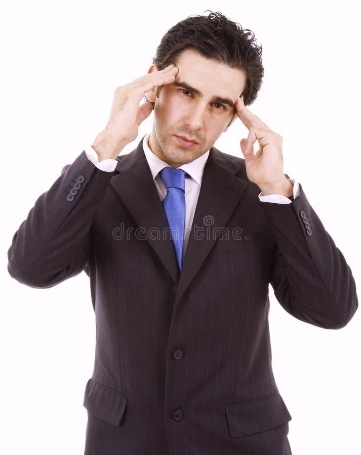 Download Młody biznesowy mężczyzna obraz stock. Obraz złożonej z wyrażenie - 13331305