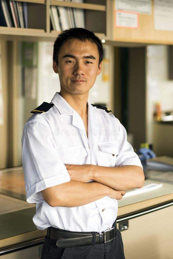 Młody Chiński nawigator fotografia stock