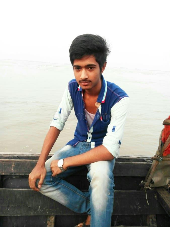 Młody człowiek fotografia royalty free