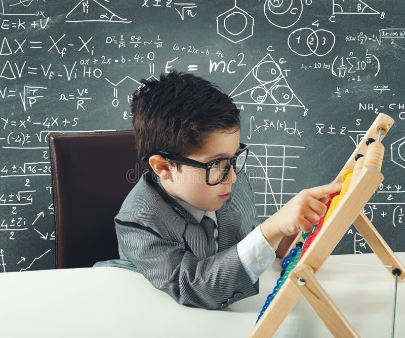 Młody geniusz zdjęcie stock