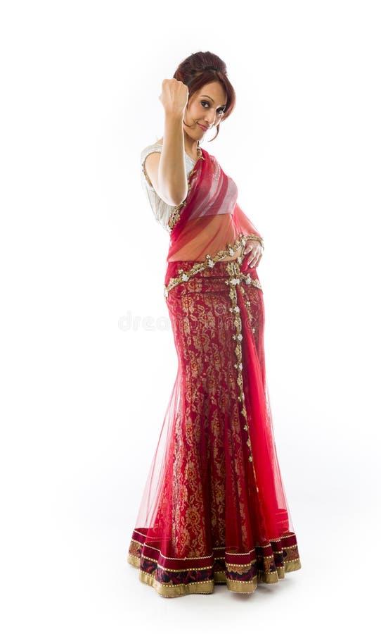 Download Młody Indiański Kobiety Odświętności Sukces Obraz Stock - Obraz złożonej z folował, szczęście: 41951665