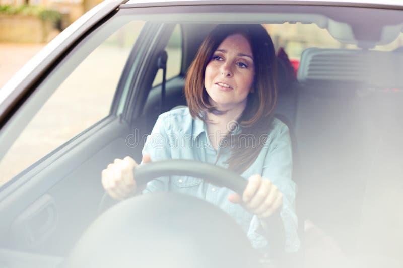 Młody kierowca obrazy royalty free