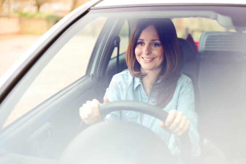 Młody kierowca fotografia stock