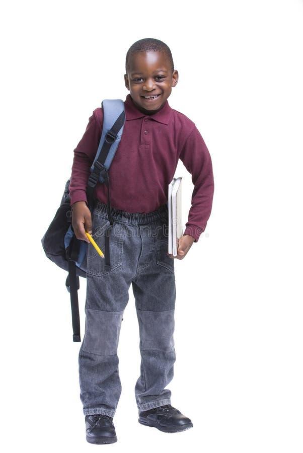 młody męskiego ucznia zdjęcie royalty free