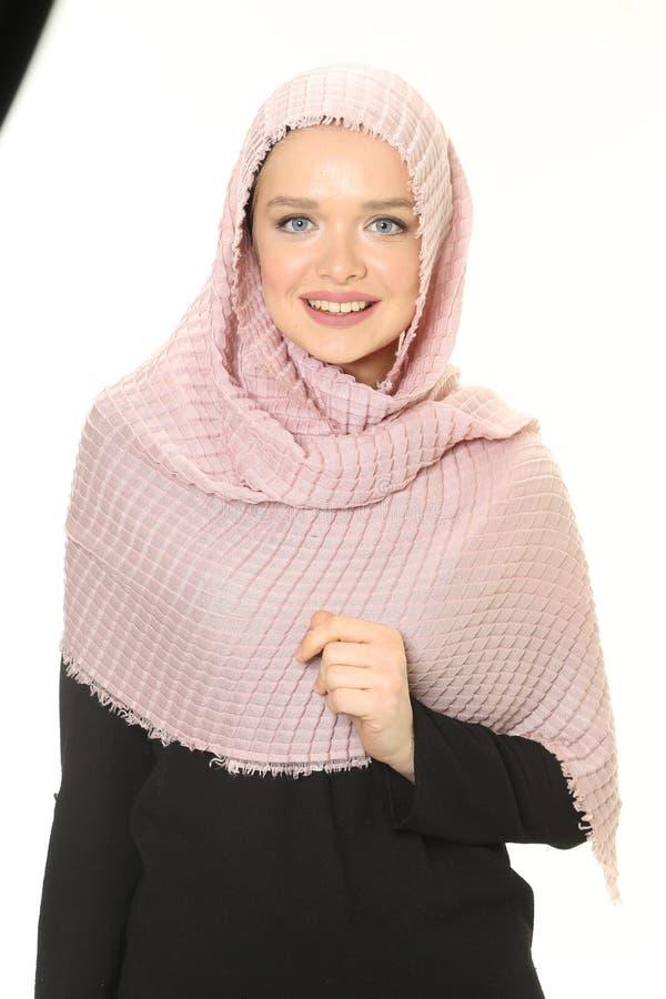 Młody muzułmański dziewczyna portret obraz stock