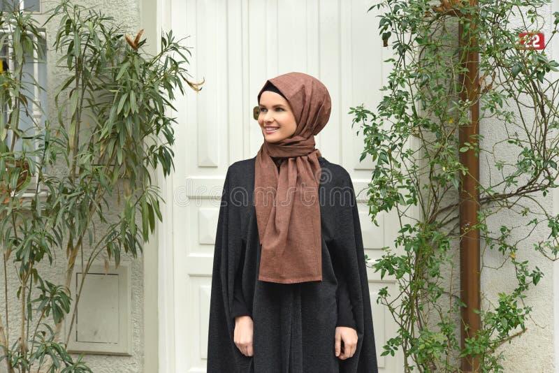 Młody Muzułmański kobieta portret obraz royalty free