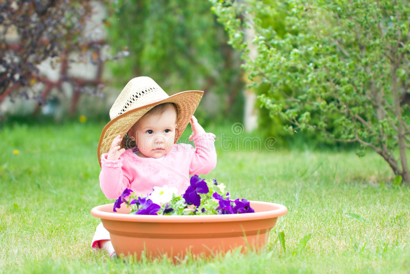 młody ogrodniczek fotografia stock