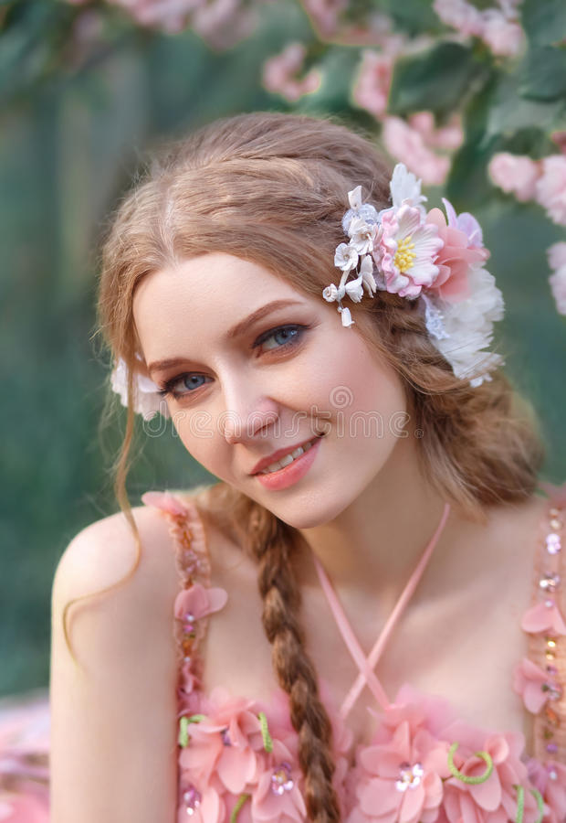 Młody princess obraz royalty free