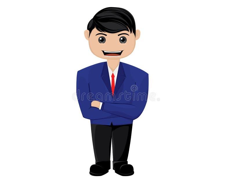 Młody przedsiębiorca ilustracji