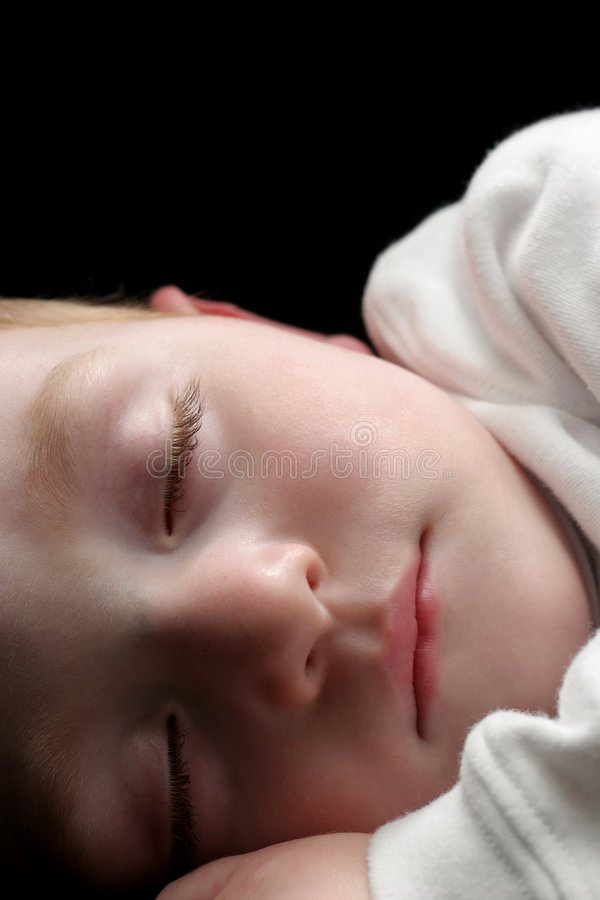 młody sypialni chłopca obraz royalty free