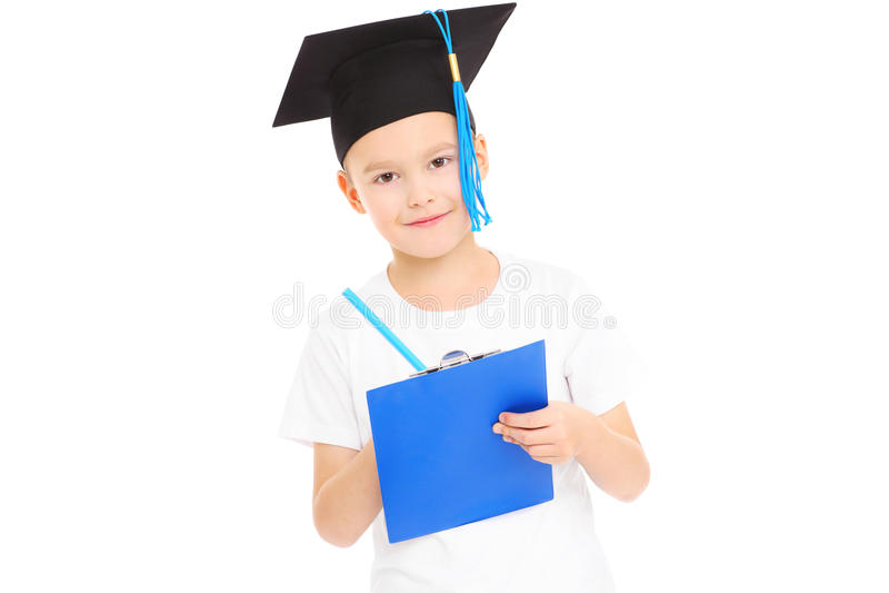 Młody uczeń obraz royalty free