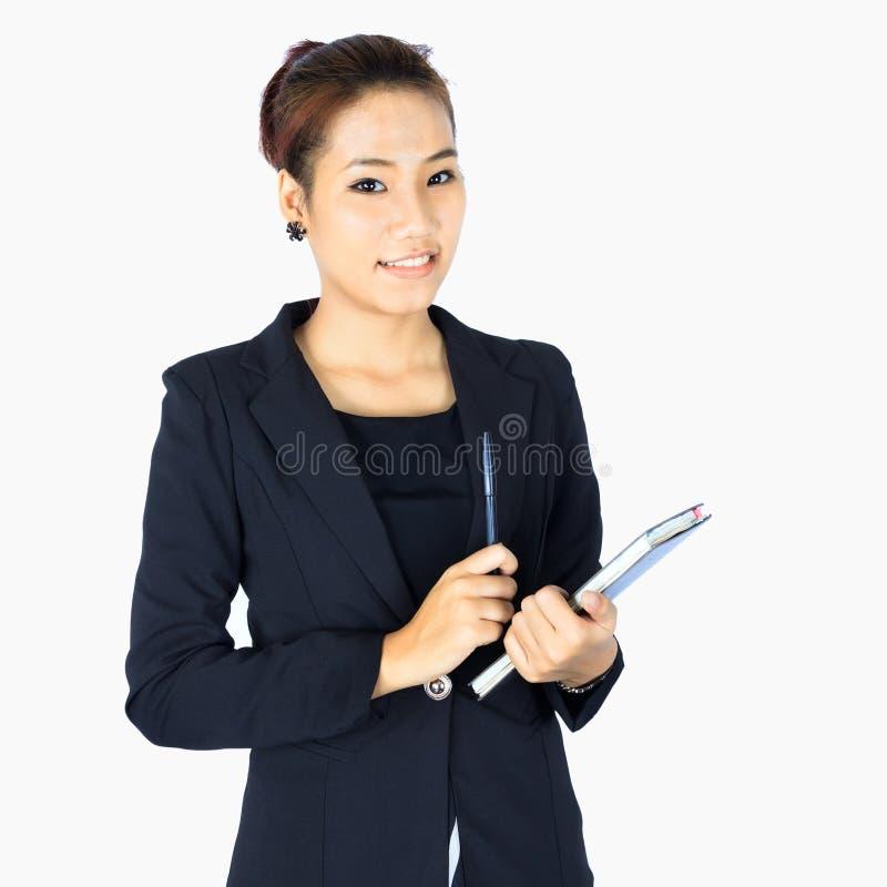 Młody zaufanie biznes fotografia stock