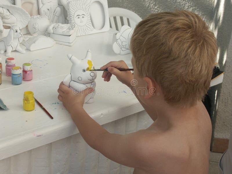 młodych malarzy fotografia stock