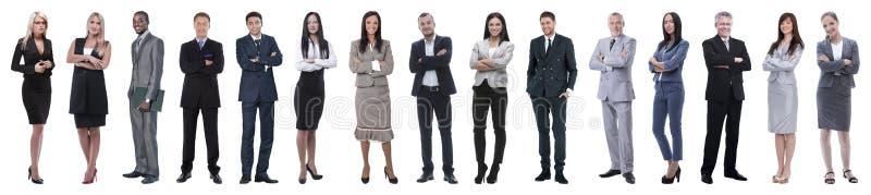 Młodzi atrakcyjni ludzie biznesu - elita biznesu drużyna obraz royalty free