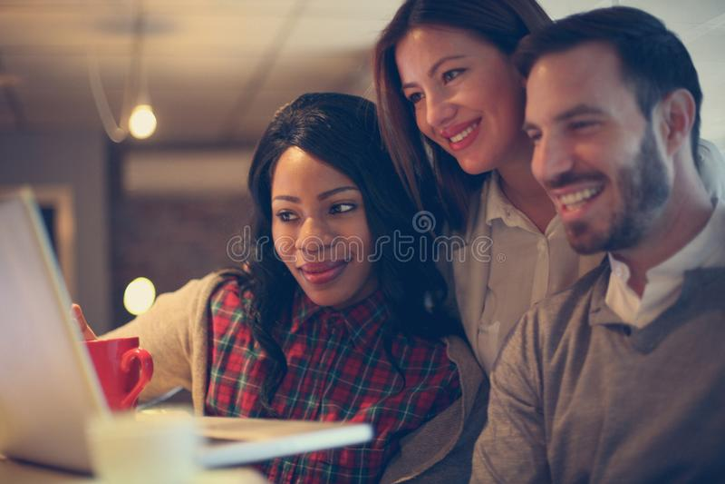 młodzi przedsiębiorcy obrazy stock