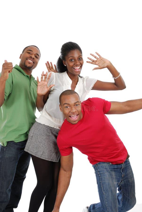 Młodzi Szczęśliwi Ludzie Obrazy Stock