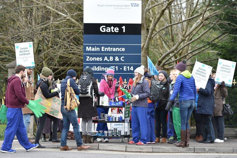Młodzieżowy lekarka strajk obraz royalty free