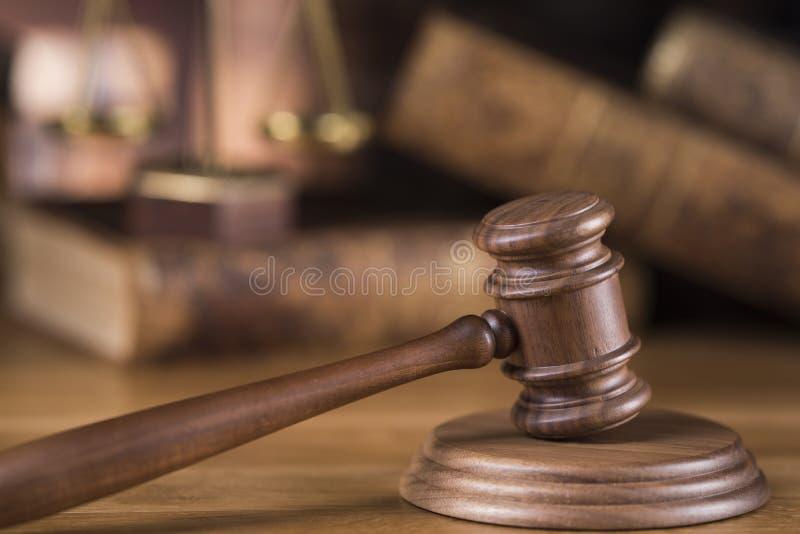 Młoteczek, prawo temat, dobniak sędziego pojęcie obrazy royalty free