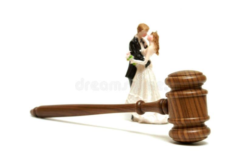 Małżeństwo legalność zdjęcia stock