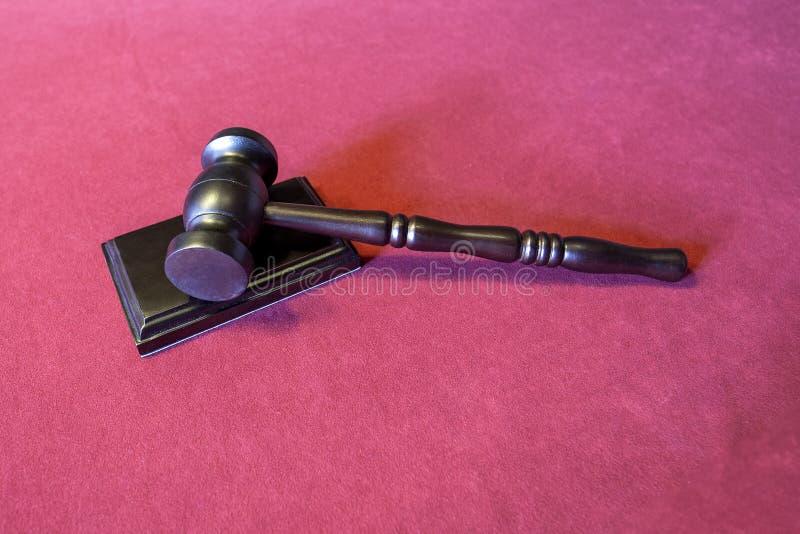 młoteczka sędziego fotografia realistyczna zdjęcie stock