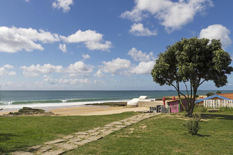 Młyńska plaża obrazy stock