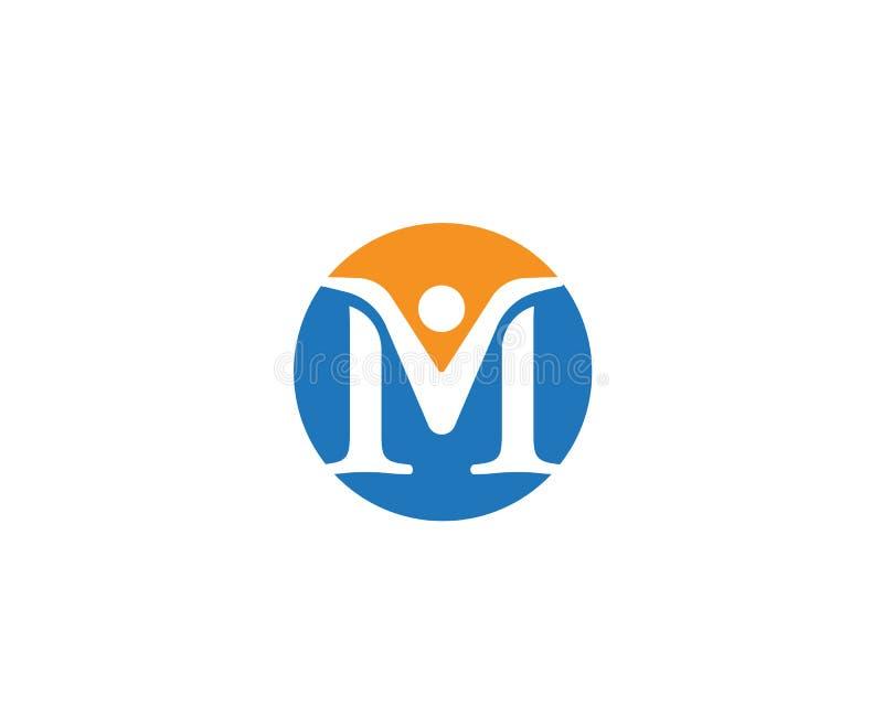 M商标企业象这样商标 皇族释放例证