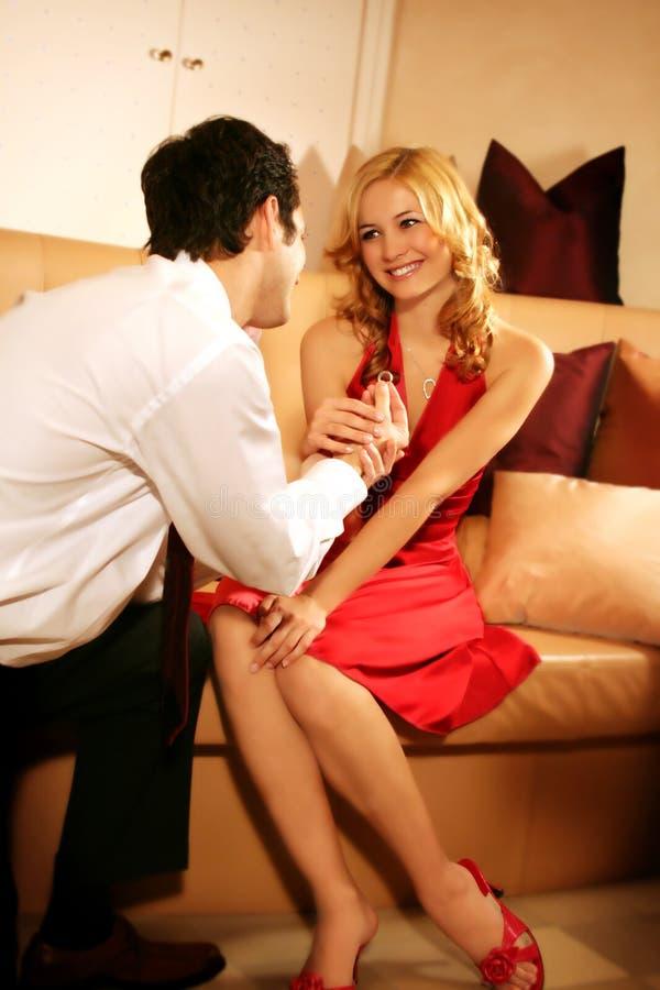 M'épouseriez-vous ? photo stock