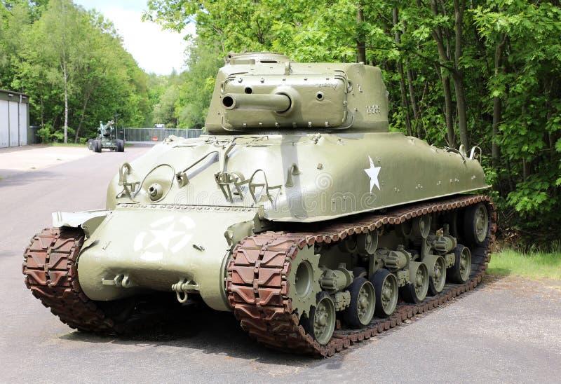 M4 δεξαμενή Sherman στοκ φωτογραφία