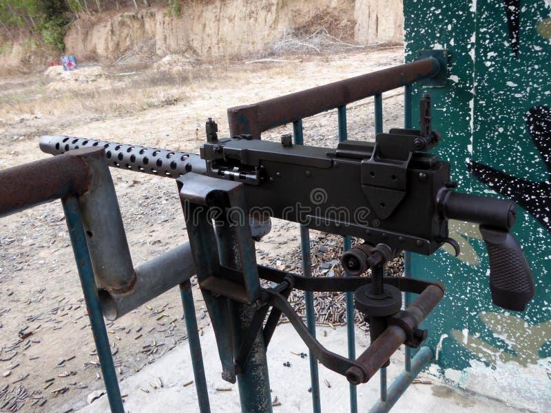 M30自动大机枪 免版税图库摄影