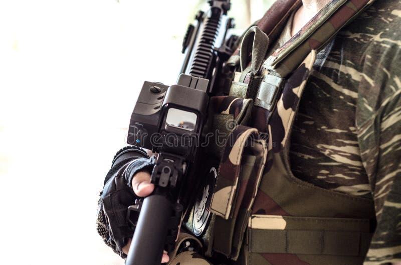 M4范围肩带 库存照片