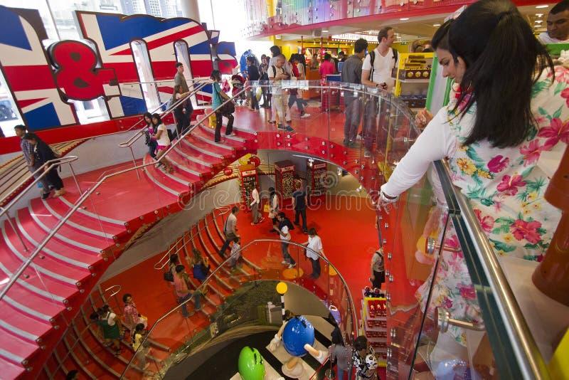 M & mundo Londres de M fotos de stock