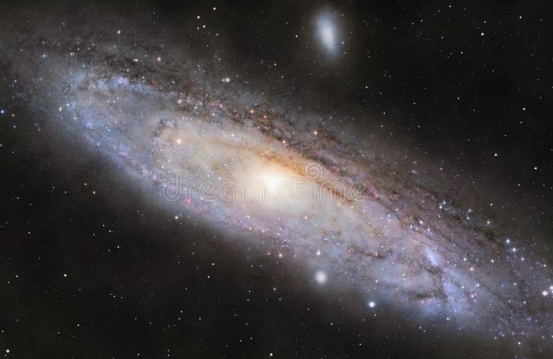 M31 Andromeda Galaxy illustrazione di stock