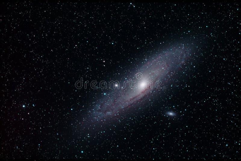 M31 - Andromedagalaxie lizenzfreie stockbilder