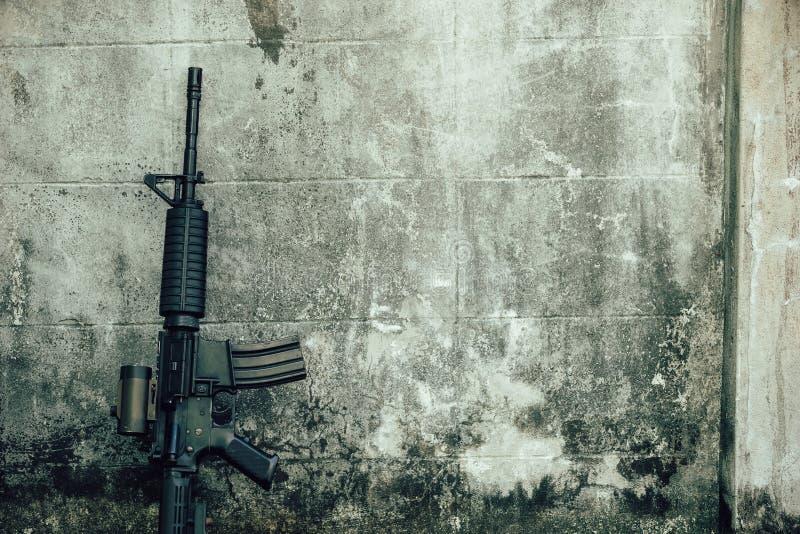 M-16 assault rifle gun royalty free stock photos
