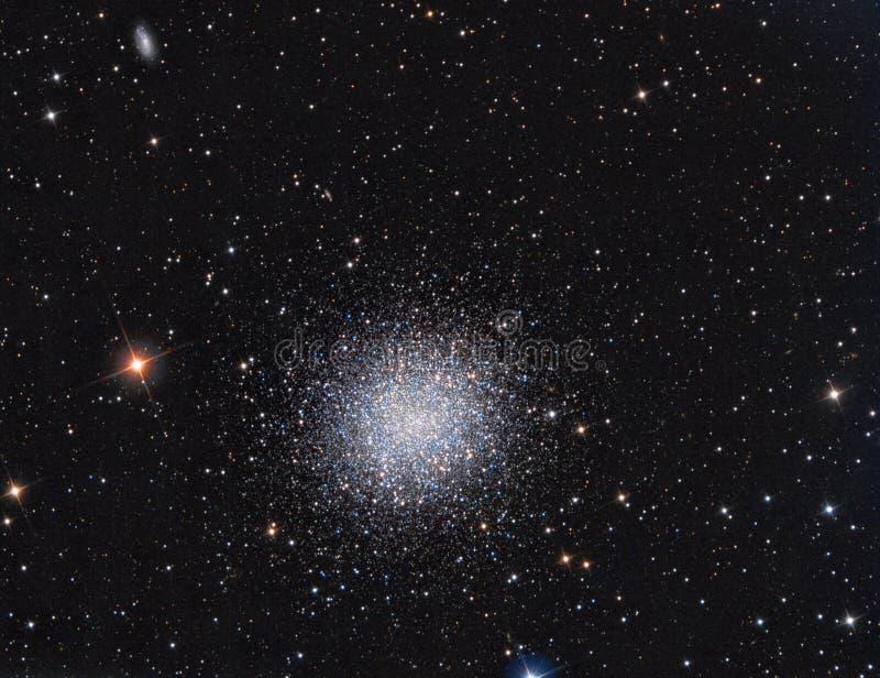 M13 Bolvormige Cluster in constellatie Hercules stock foto's