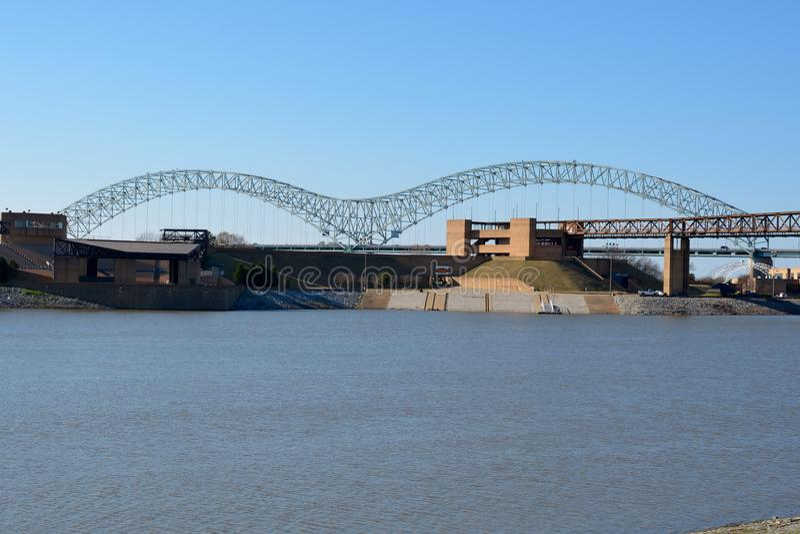 M Bridge arkivbilder