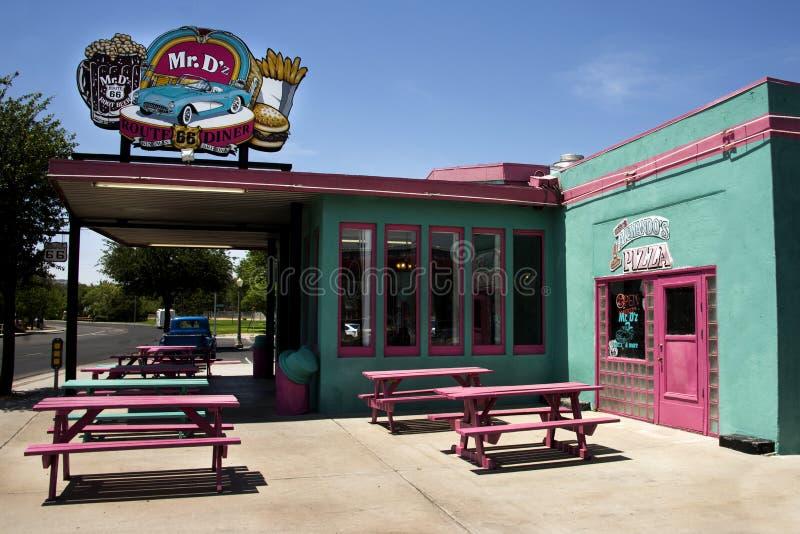 M. célèbre Wagon-restaurant de De z Route 66 dans Kingman Arizona photos libres de droits