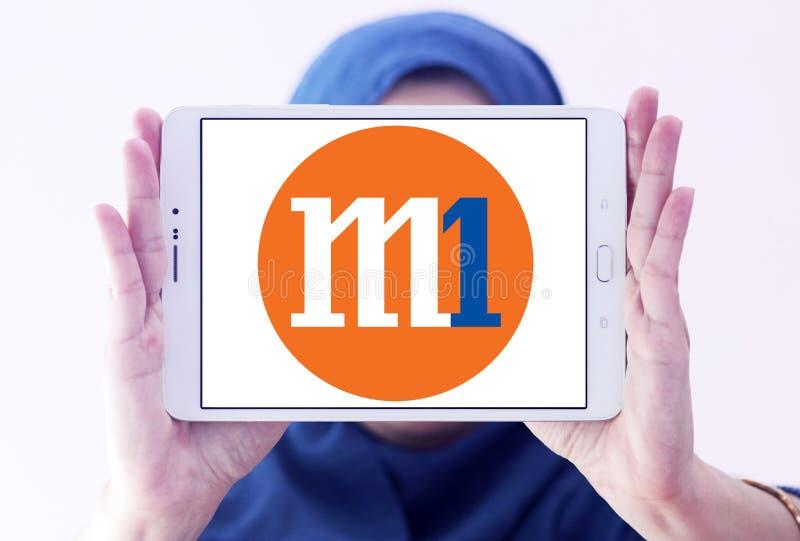 M1 firmy Limitowany logo fotografia royalty free