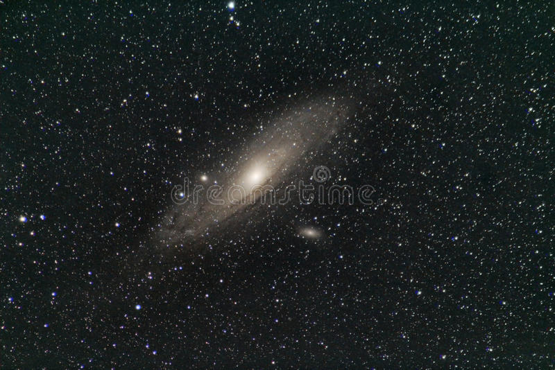 M31 - Galaxie im Andromeda lizenzfreies stockfoto
