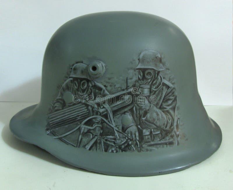 M17 helmet. Drawing. stock photography